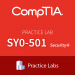 SY0-501 Practice Lab: CompTIA Security+