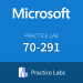 Practice Lab: Microsoft 70-291 Maintaining a Microsoft Windows Server 2003 Network Infrastructure