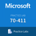 Practice Lab: Microsoft 70-411 Administering Windows Server 2012