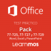 Microsoft Official Practice Test Office Specialist 2016 - Word 2016, Excel 2016, PowerPoint 2016 - Spanish