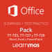 Elearning + Microsoft Practice Test Office Specialist 2016 Word, Excel and Powerpoint-Spanish