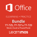 Elearning + Microsoft Official Practice Test Office Specialist 2016 Word, Excel and Powerpoint English.