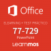 Elearning + Microsoft Practice Test 77-729: Office Specialist 2016 Powerpoint in Spanish