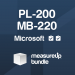 Bundle (PL-200, MB-220): Microsoft Certified Dynamics 365 Marketing Functional Consultant Associate (Practice Tests)