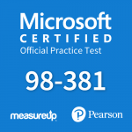 Microsoft Official Practice Test 98-381: Introduction to Programming Using Python