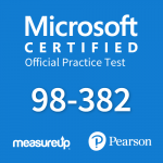 Microsoft Official Practice Test 98-382: Introduction to Programming with JavaScript