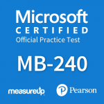 MB-240: Microsoft Dynamics 365 Field Service Official Practice Test