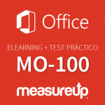 Elearning + Practice Test MO-100: Microsoft Word (Word and Word 2019)-Spanish