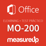 Elearning + Practice Test MO-200: Microsoft Excel (Excel and Excel 2019)-Spanish