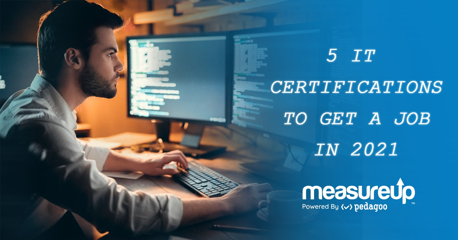 5 IT certifications to get a job in 2021