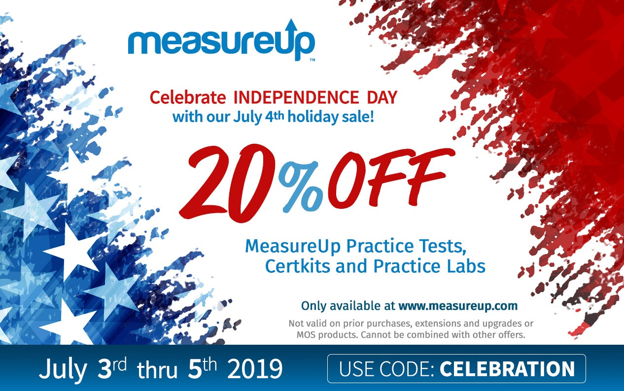 Celebrate Independence Day with our July 4th holiday sale! FROM JULY 3rd THRU 5th 2019