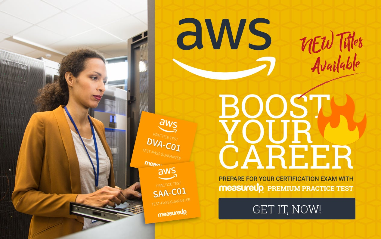 New practice tests to train and certify professionals in Amazon Web Services
