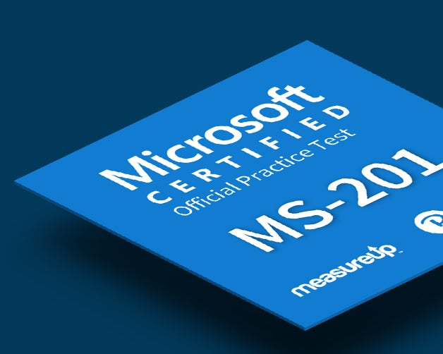 MeasureUp Practice Test MS-201 Microsoft Implementing a Hybrid and Secure Messaging Platform