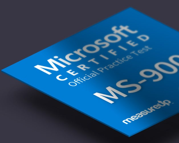 Practice Test MS-900: Microsoft 365 Fundamentals
